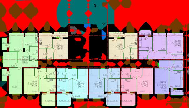 Дом №11 секция Д первый этаж