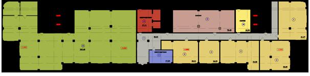 цокольный этаж жилого дома №4