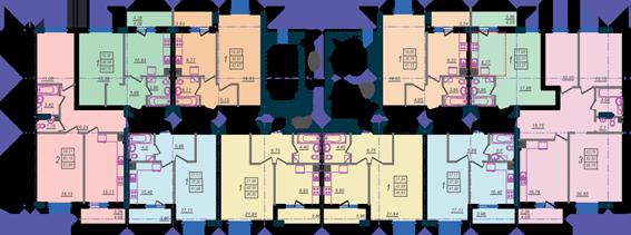 Дом №9 секция А типовой