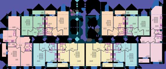 Дом №9 секция В первый этаж