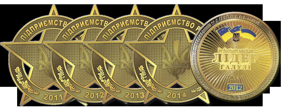 награды руником пидприемство року